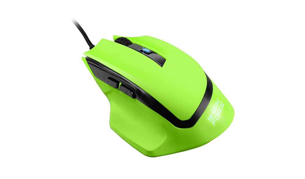 sharkoon shark force affordable gaming mouse