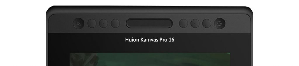 shortcut buttons Huion Kamvas Pro 16