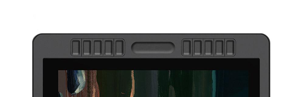 shortcut buttons and touchbar on huion kamvas pro 22