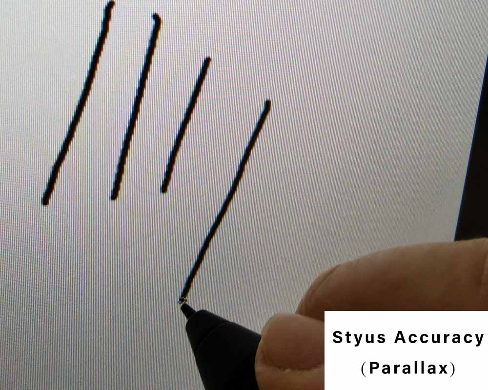 stylus accuracy of xp pen artist display 22r Pro