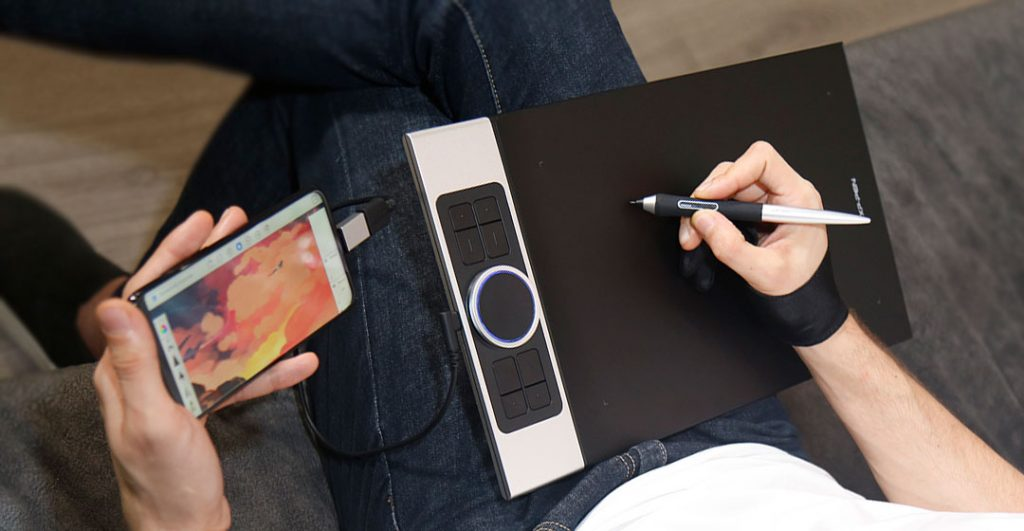tablet support of xp pen deco pro