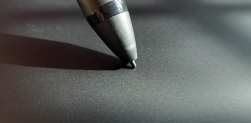 Texture quality of the drawing surface