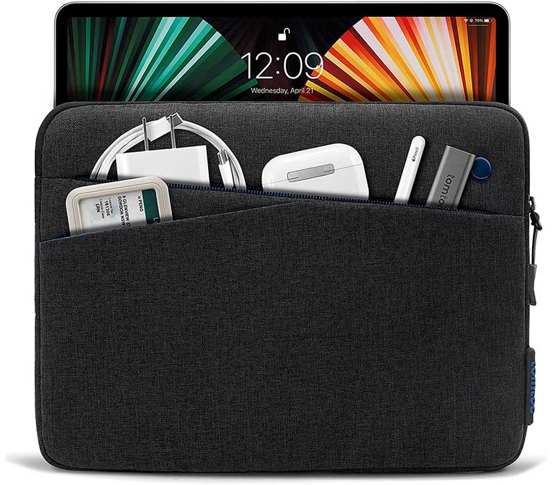 tomtoc soft tablet sleeve for iPad
