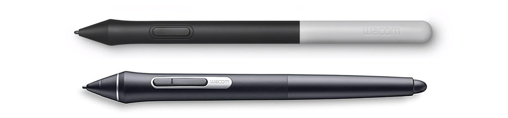 Wacom One Pen and Wacom Pro Pen 2 - stylus comparison