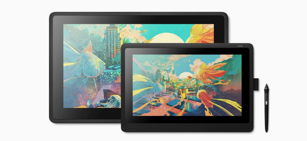 wacom cintiq 16 and Wacom Cintiq 22 compariosn by artist