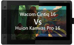 wacom cintiq 16 vs Huion kamvas Pro 16 poster
