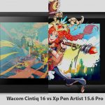 Wacom Cintiq 16 Vs Xp Pen Artist 15.6 Pro – Drawing tablet comparison