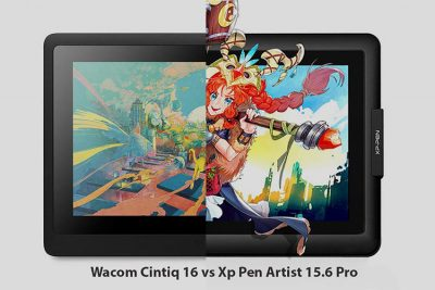 Wacom Cintiq 16 Vs Xp Pen Artist 15.6 Pro – Drawing tablet comparison