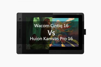 Wacom Cintiq 16 vs Huion Kamvas Pro 16 comparison: Which is better