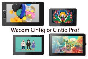 Comparison: Wacom Cintiq vs Cintiq Pro (Which is Better?)