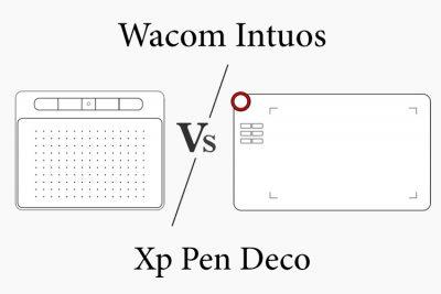 Wacom Intuos vs Xp Pen Deco Series Comparison: Which is better?