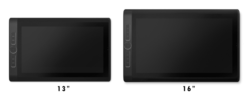 wacom mobile studio pro 13 inches and 16 inches