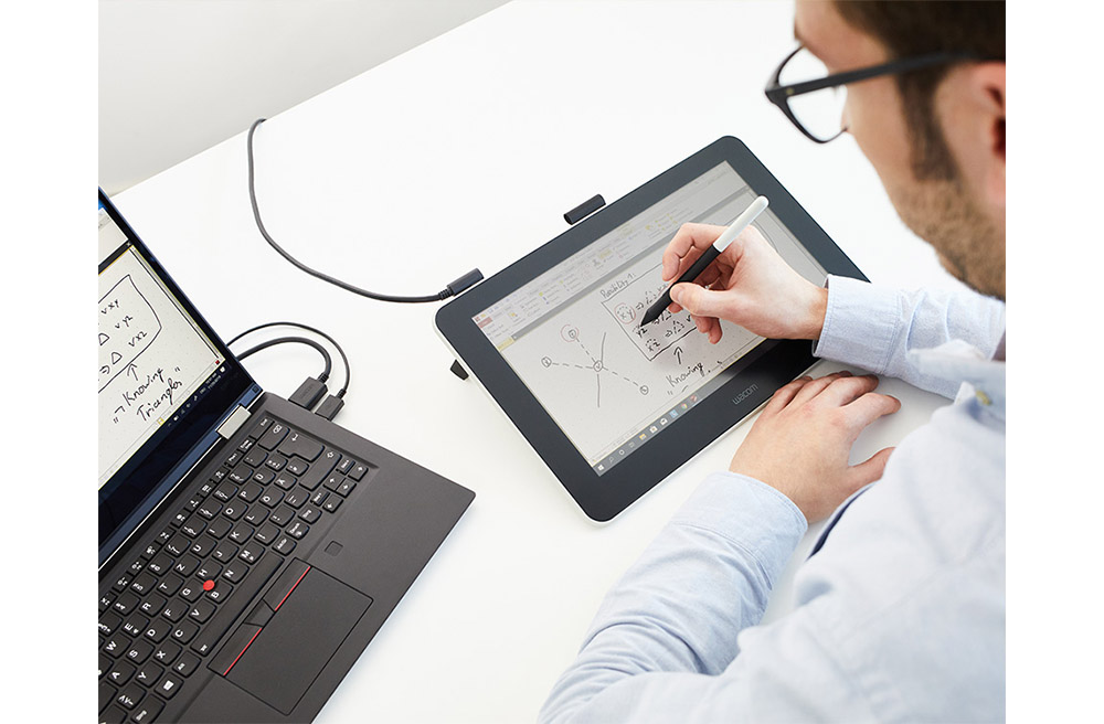 wacom one tablet for writing and teaching students