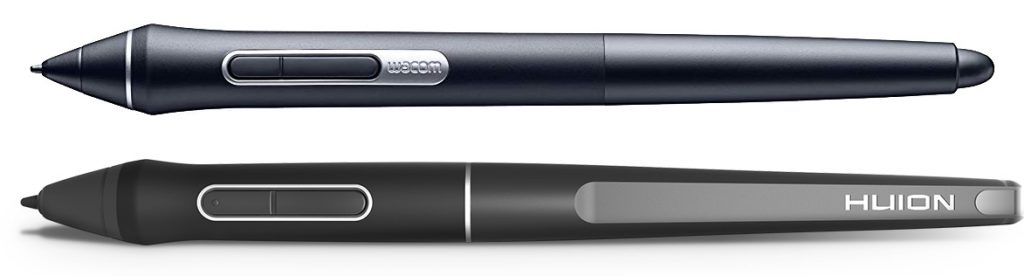 wacom pro pen 2 and Huion PW507