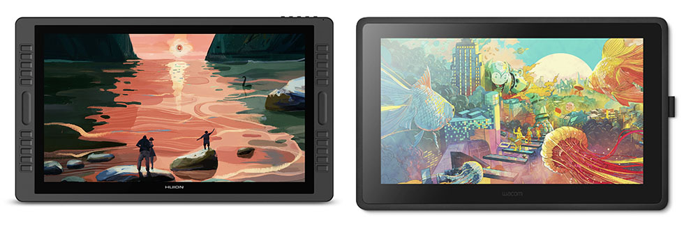 wacom vs huion comparison