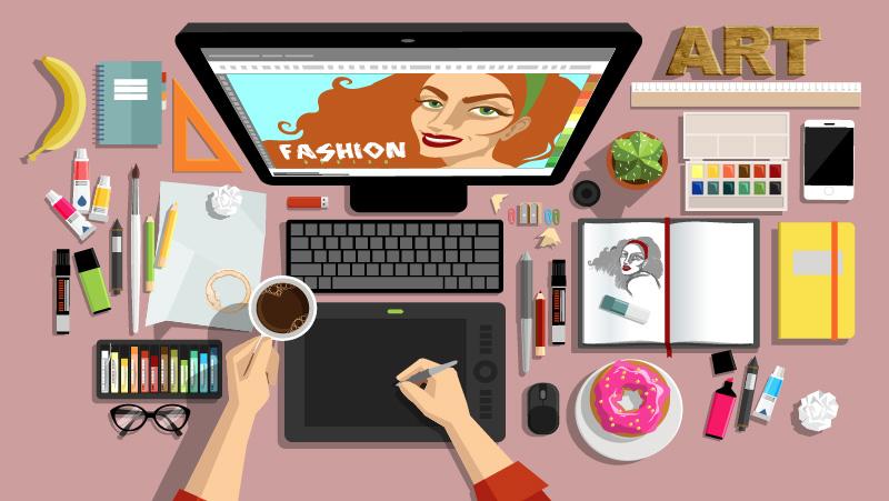what is digital art