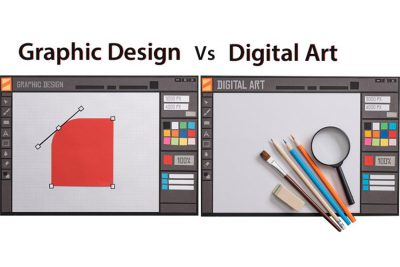 What is the difference between Graphic Design and Digital Art? (Explained!)