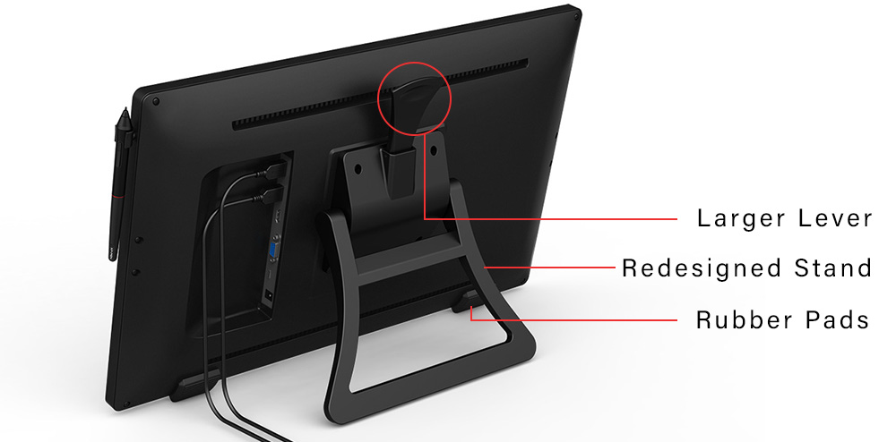 xp Pen artist 22R Pro tablet stand
