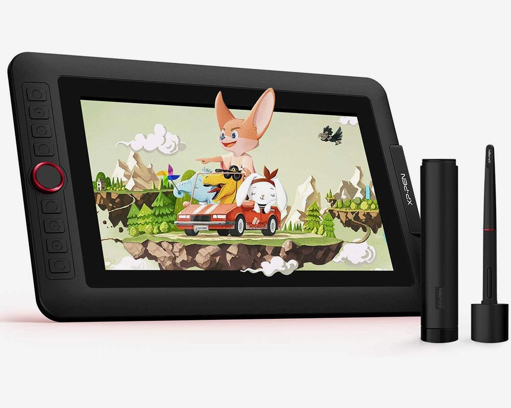 xp pen artist 12 pro budget display drawing tablet for beginners