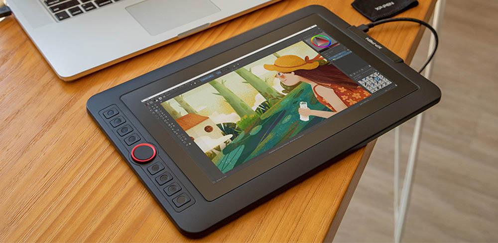 xp pen artist 12 pro design and build quality