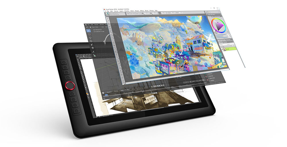 xp pen artist 15.6 pro - best drawing tablet with screen