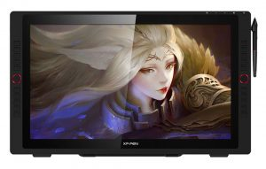 xp pen artist 24 Pro drawing tablet specs