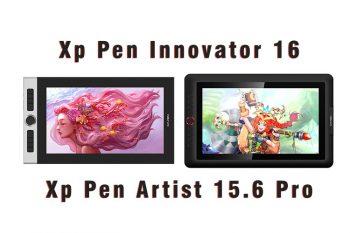 Xp Pen Innovator 16 vs Xp Pen Artist 15.6 Pro comparison