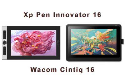 XP Pen Innovator 16 vs Wacom Cintiq 16 Comparison