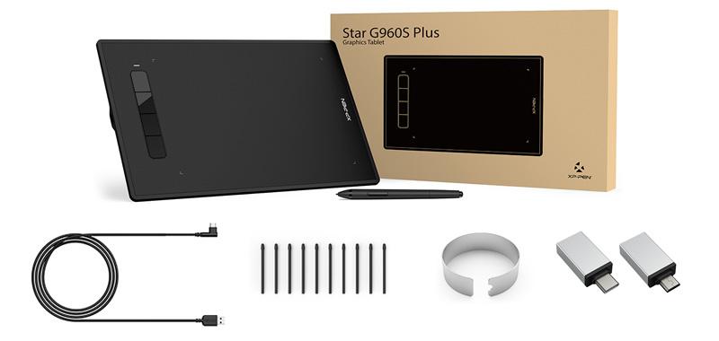 xp pen star G960S plus unboxing